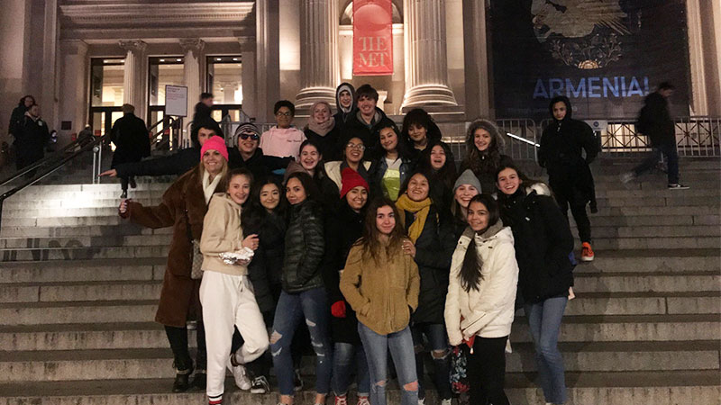 Culture Vultures Visit the Met