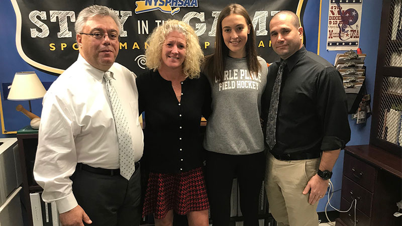 Giana McKeough Named News 12 Scholar-Athlete